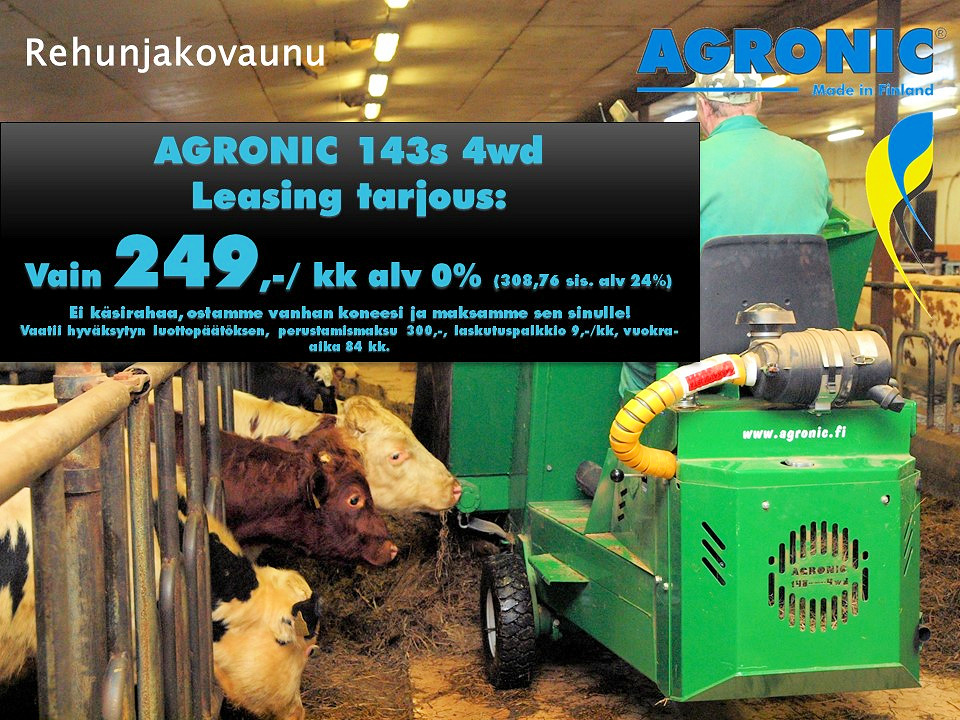 Agronic 143S 4WD 2016
